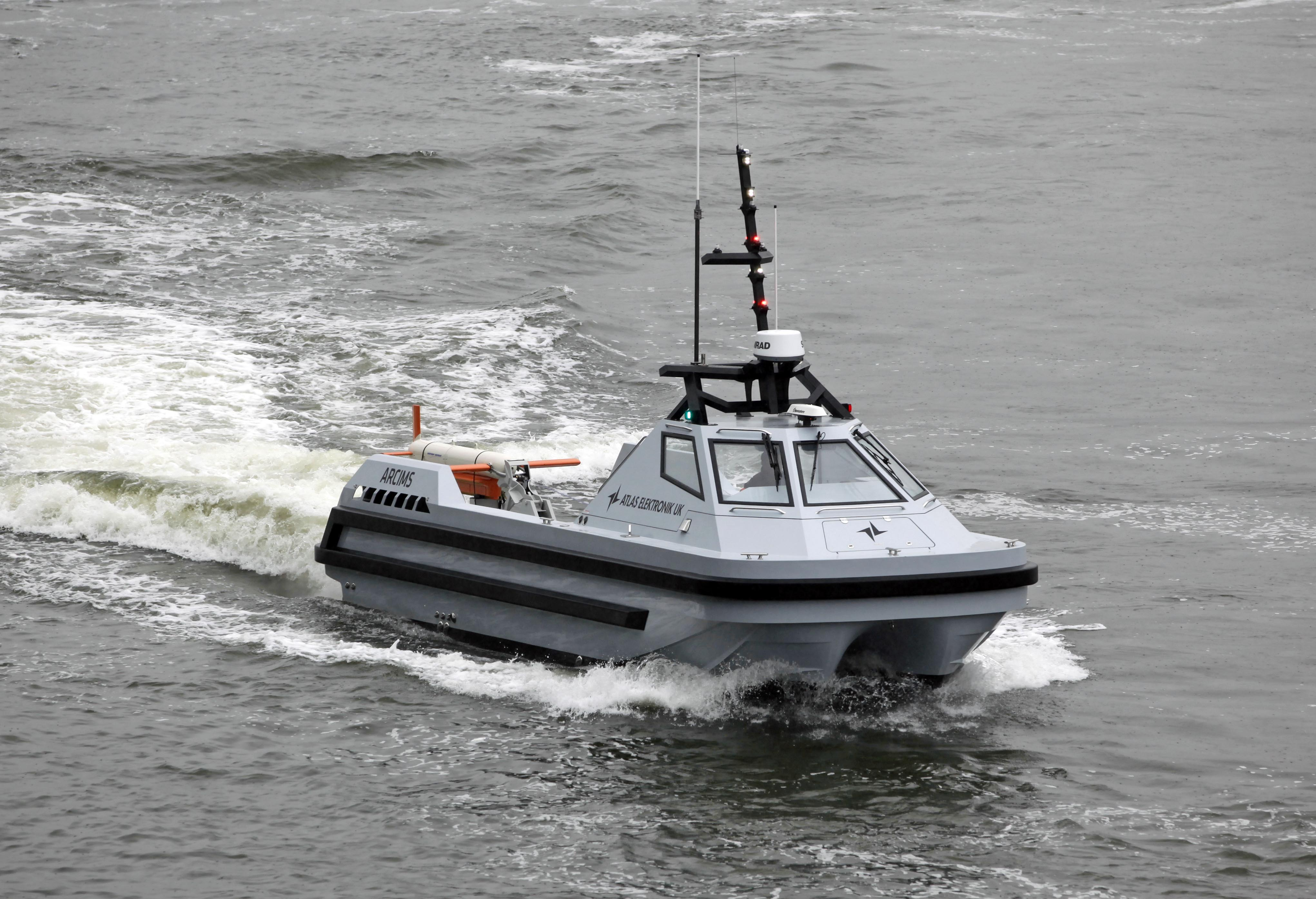 Atlas Remote Combined Influence Minesweeping System Arcims