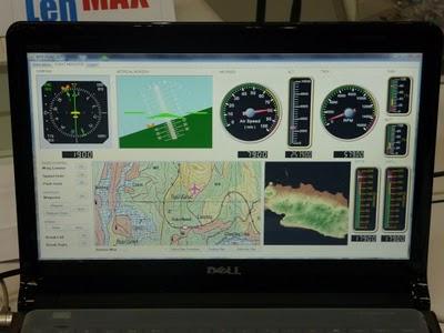 Sriti Ground Control Station Monitor Defense Studies Photo