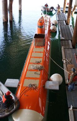 Mobile Anti Submarine Training Target